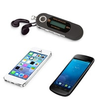 collega al tuo smartphone o lettore di file multimediali