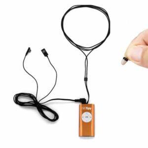 micro auricolare invisibile con collana mp3 Gospy